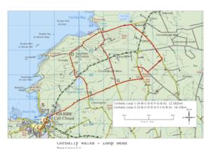 Corbally Walks Routemap