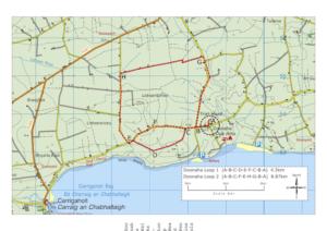 Doonaha Walks Routemap
