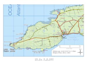 Kilbaha Walks Routemap