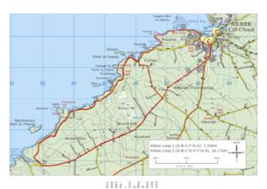 Kilkee Walks Routemap