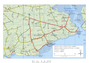 Querrin Walks Routemap