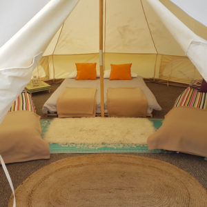 Purecamping furnished bell tents