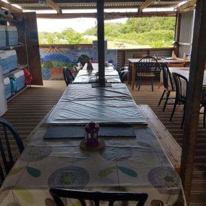 Purecamping communal campers kitchen