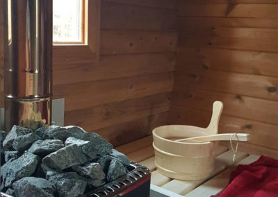Purecamping barrel sauna