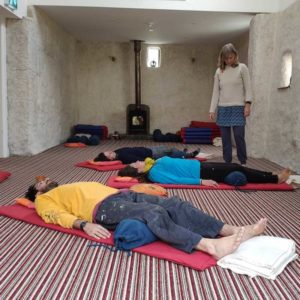 Purecamping yoga room for hire