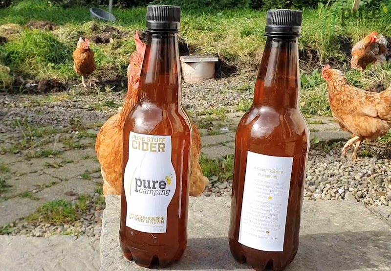 The making of 'Pure Stuff' cider